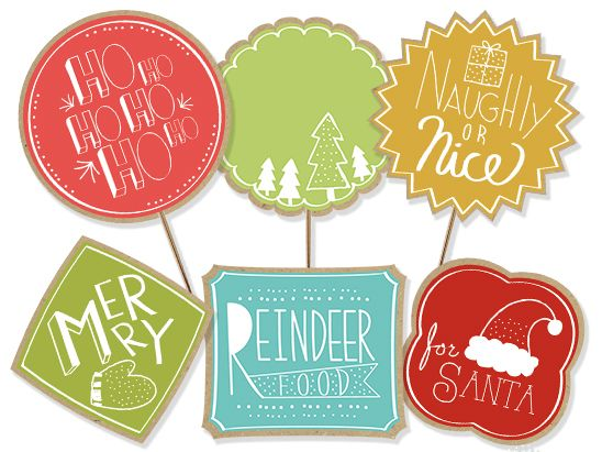 37 best free printable labels images on pinterest food labels free christmas printables gift tags paper chain food labels negle Images