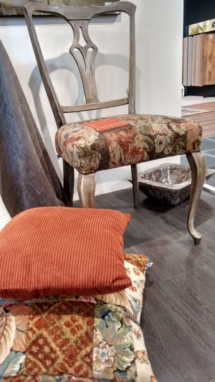 Onze meubels worden nu tentoongesteld in de kamers van Pruysen Parket in Dussen.