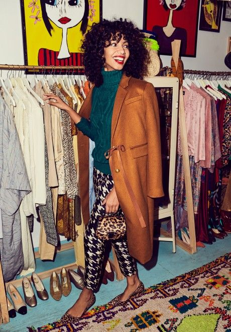 New Zealand-raised, Brooklyn-based fashion illustrator Nadeesha Godamunne x J.Crew  | Only the dopest :)