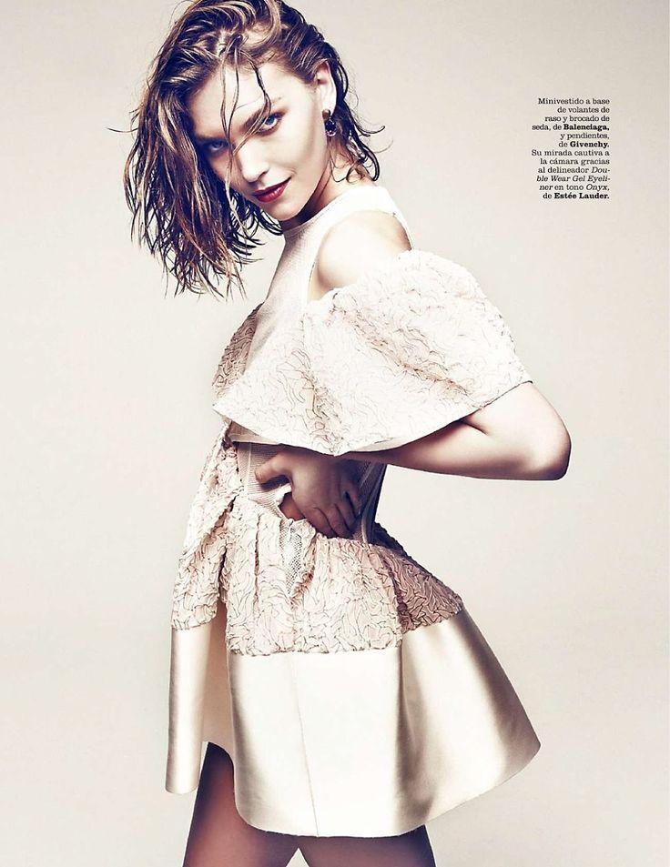 visual optimism; fashion editorials, shows, campaigns & more!: musa arizona: arizona muse by danilo giuliani for marie claire spain may 2014...