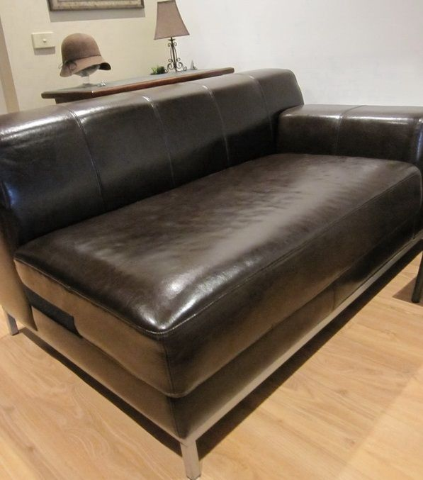 Ikea Sofa Covers Replacement: Leather SLIPCOVER By Comfort Works