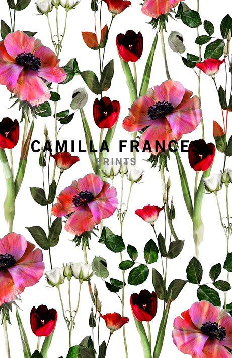 { floral } _ Camilla Frances prints