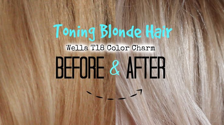 All fellow blondes know the eternal struggle of maintaining the perfect blonde tone. Give it a few weeks after having the hair dyed ...