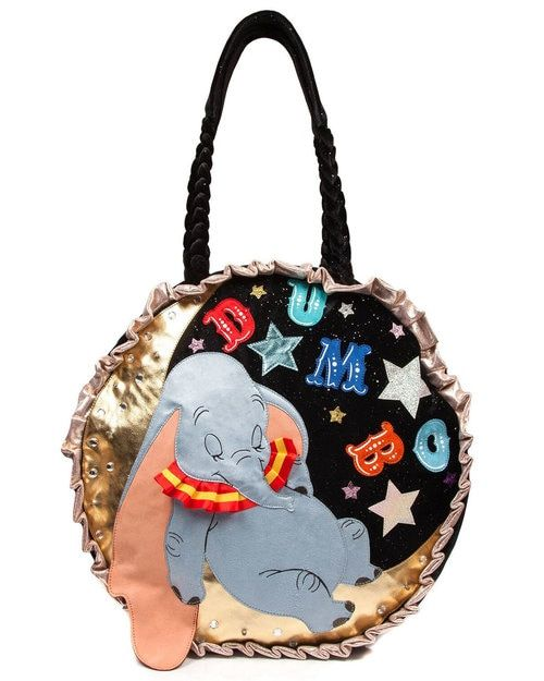 Irregular Choice x Disney s Dumbo Let Your Dreams Soar Large Tote ... 09ccd3989be07