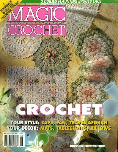Magic Crochet n° 120 - leila tkd - Picasa Web Albums...free patterns and diagrams in English!