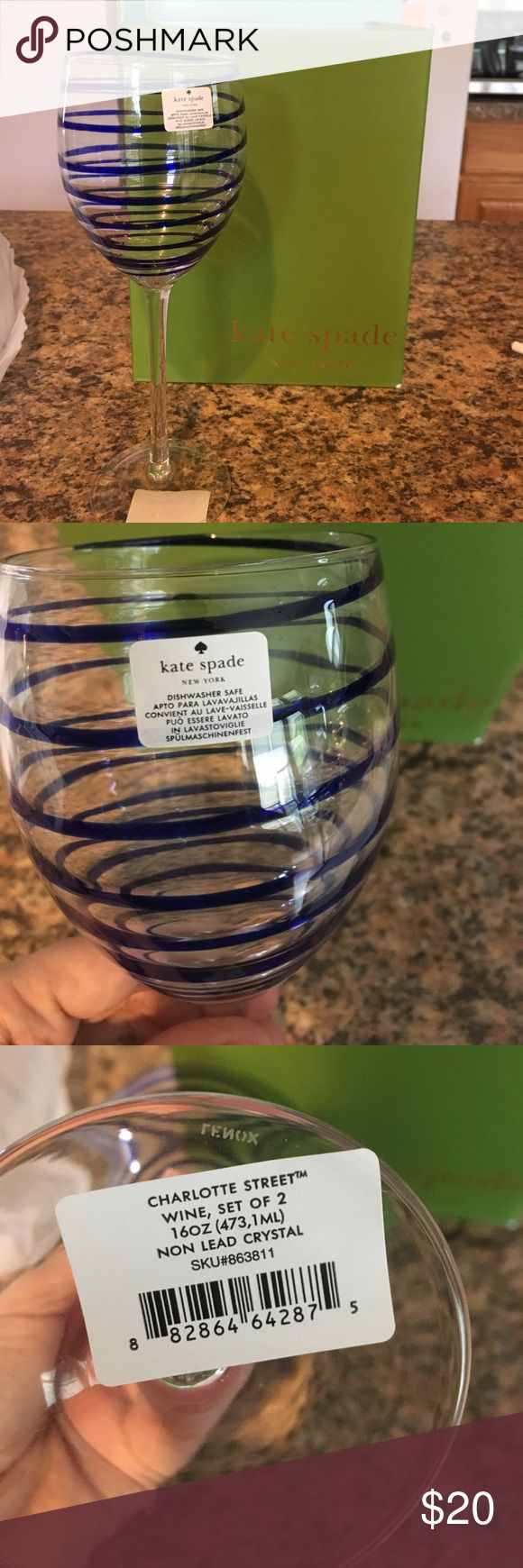 The 25 best lenox crystal ideas on pinterest crystal glassware kate spade lenox crystal wine glasses nwt reviewsmspy