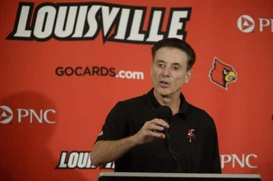 If Rick Pitino isn't already packing up his office at Louisville, he ought to get started.