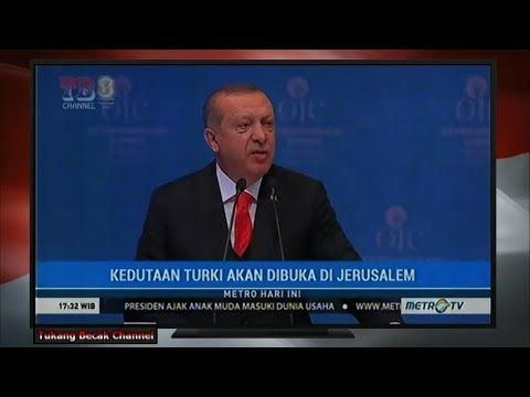 [Patut Dicontoh P. JOKOWI] Erdogan Akan Bangun Kedutaan Besar di Jerusalem
