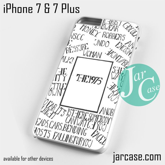 The 1975 Words Phone case for iPhone 7 and 7 Plus
