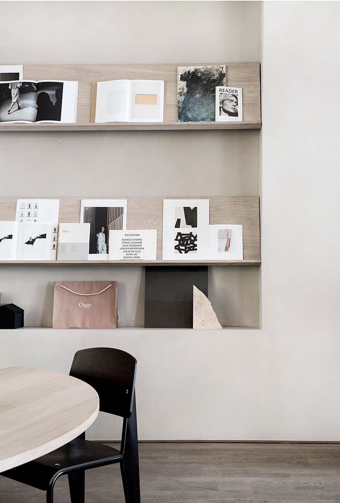 Kinfolk Headquarters in Copenhagen, designed by Norm Architects (From another round-up of Fancy Spaces / inspiring interiors)