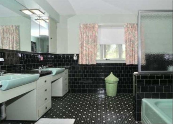 13 best Mid Century Bathroom - General images on Pinterest ...
