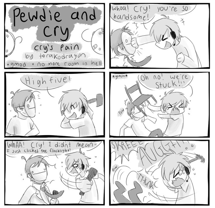 I doubt anyone who follows me knows who Pewdiepie and Cry are... but oh well. :D