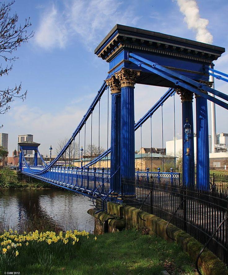 St Andrews suspension Bridge, Glasgow