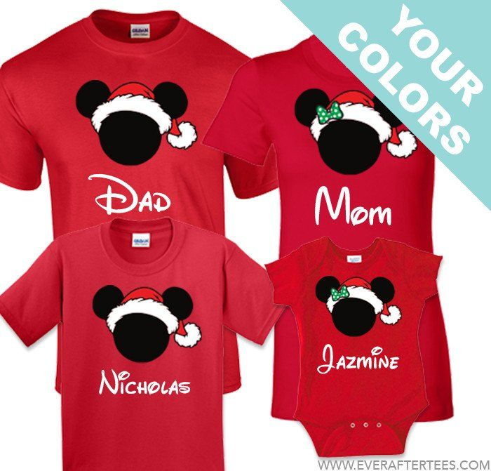 Disney Family Christmas Shirts