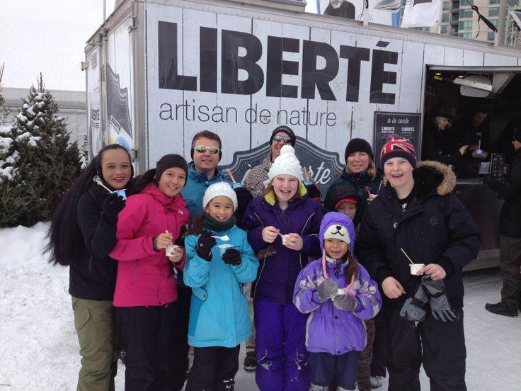 Rassemblement familial au camion Liberté! - Family meet-up at Liberté food truck - Winterlude Festival - Gatineau Feb 21-23 2014