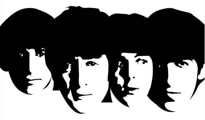 Estampa boa. Beatles