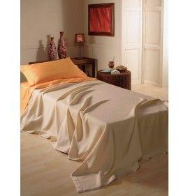 SPRING BABY BED BLANKET PURE MERINO WOOL BRUGHIERA