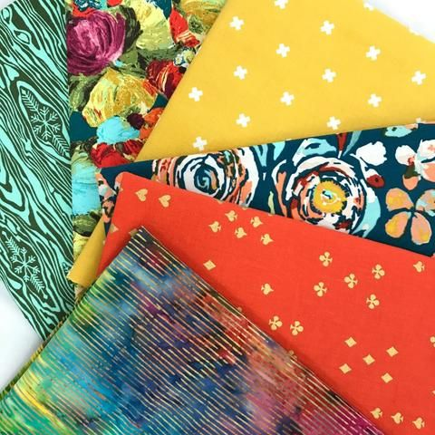 Almost Primary Fat Quarter Bundle by Bobbie Lou's Fabric Factory