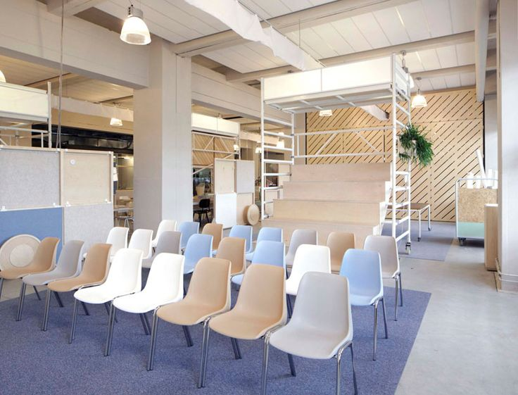 Dave keune adapts design innovation space for flexible for Industrial design innovation