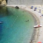 Castellammare has also got a small sandy beach right in its center: Petrolo beach which you can reach from one of the main square of the town.