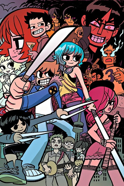 Scott Pilgrim rocks my world...