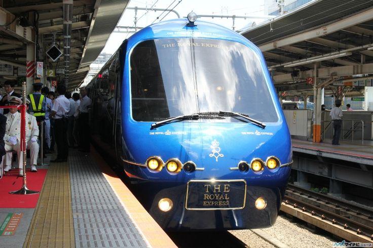 「THE ROYAL EXPRESS」は伊豆急行の「アルファ・リゾート21」(2100系5次車)を水戸岡鋭治氏のデザイン・設計でリニューアルした8両編成、定員約100名の観光列車。外観は「ロイヤルブルー」を基調に、アクセントとして金色のラインを施し、インテリアは車両ごとに異なるデザインで「ゴールドクラス」(1~2号車)・「プラチナクラス」(5~8号車)・「キッチンカー」(4号車)に加え、展覧会・結婚式・会議などにも使用できる「マルチカー」(3号車)を設置した。運行区間は横浜~伊豆急下田間とされている。