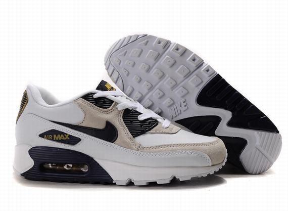 nike air max 90 w chaussures léopard noir or