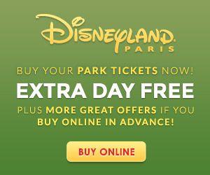 Disneyland Paris Park Tickets
