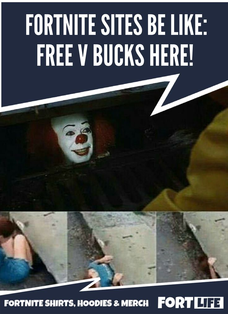 Fortnite Memes | V Bucks Scam | Fortnite Shirts, Memes ...