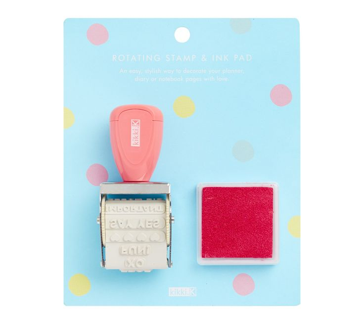 You'll love the splash of fun and organisation this little stamp brings to your…