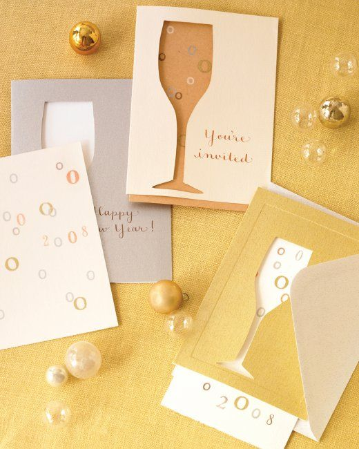 Invitations That Pop   Step-by-Step   DIY Craft How To's and Instructions  Martha Stewart