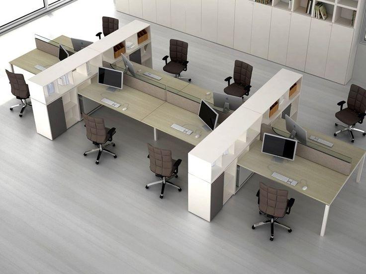 414 best oficinas estaci nes de trabajo images on for Cubiculos de oficina