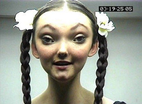 Playstation ad directed by Chris Cunningham for agency TBWA in 1999, featuring Fiona Maclaine.
