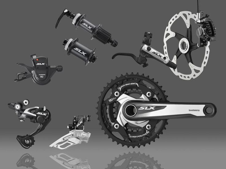 Shimano SLX M670 Triple 10 Disc Brake Groupset | Groupsets - MTB | Merlin Cycles