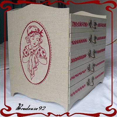 Cartonnage - Brodeuse92
