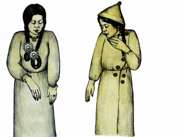 Female clothing reconstructions from finds at Sárrétudvar by Ibolya M. Nepper (1991 and 1993 publications).