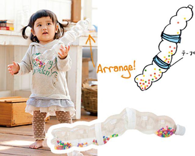赤ちゃんがハマる!音の出る手作りおもちゃ3種|Milly ミ…