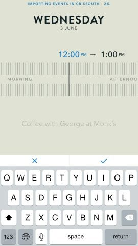 Moleskine Timepage – Calendar for iCloud, Google & Exchange Screenshots