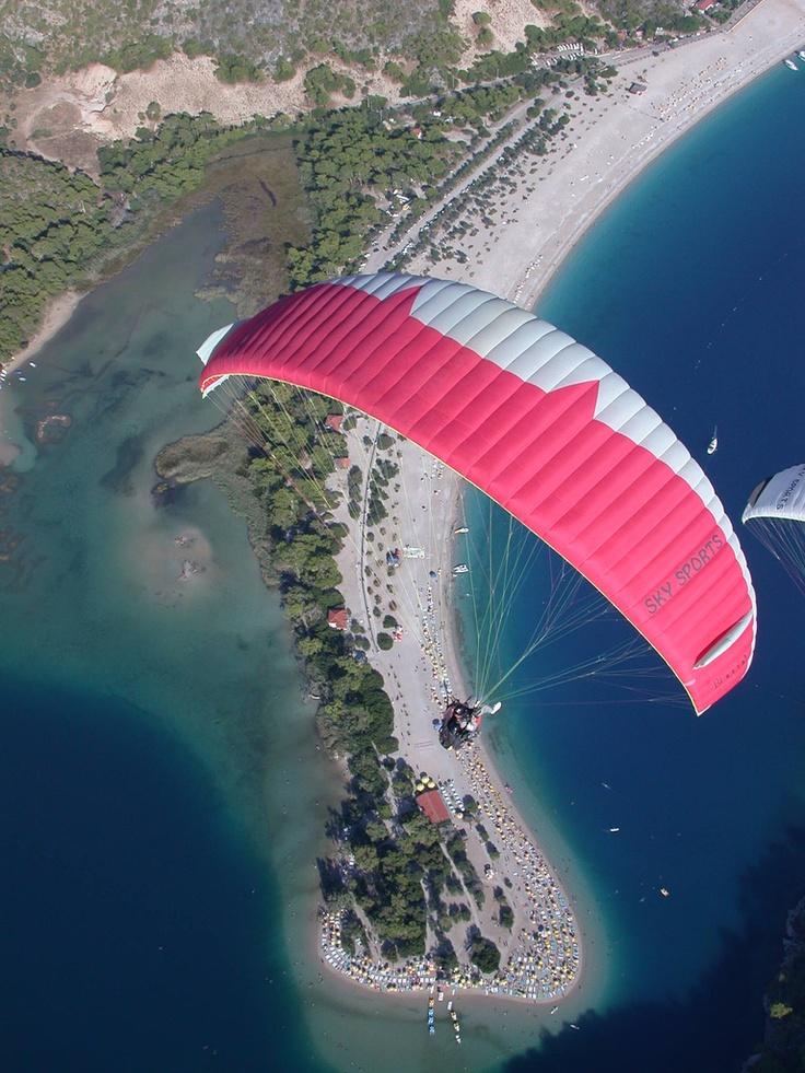 Lycian way - Babadag.parachute