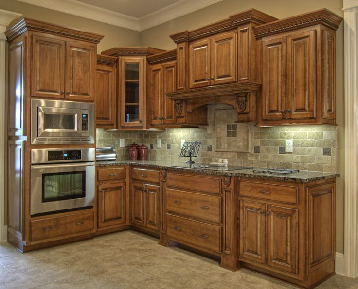 Best Grey Granite Countertops With Brown Cabinets Google 640 x 480