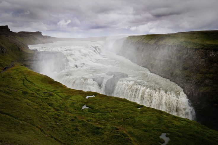 Gullfoss, Iceland  <3