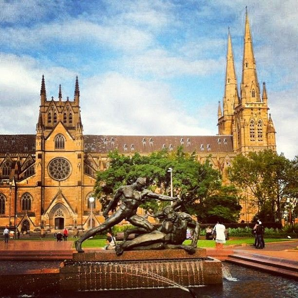 .[ @ ] markonthemap St. Andrew's cathedral