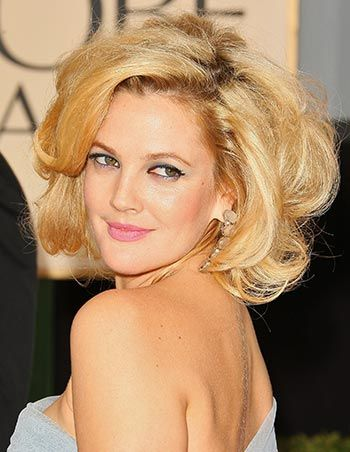 love this hair. Sexy and effortless (looking)!: Hair Colors, Vintage Hairstyles, Celebrity Hairstyles, Shorts Hair, Hair Style, Big Hair, Makeup Looks, Drew Barrymore, New Hairstyles