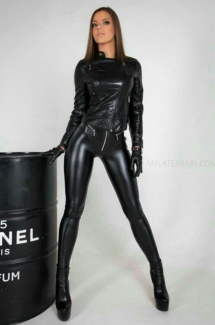 2f4c78c75cc58 Lederlady ❤ Shiny Leggings, Black Leggings, Leggings Are Not Pants, Leather  Jumpsuit,