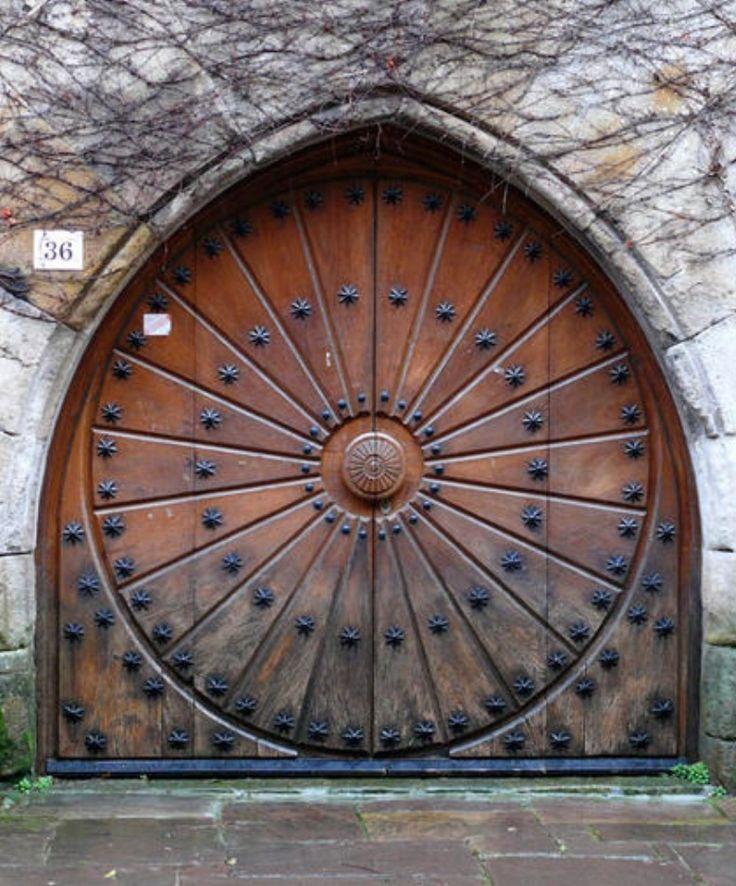 Amazing door in Cantabria, Spain.