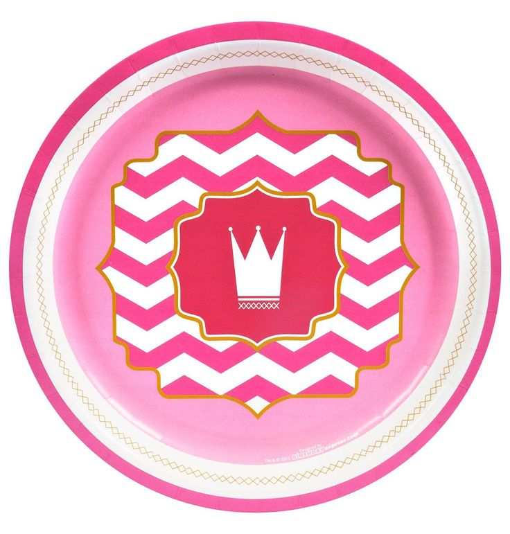 Pink! Dinner Plates from BirthdayExpress.com