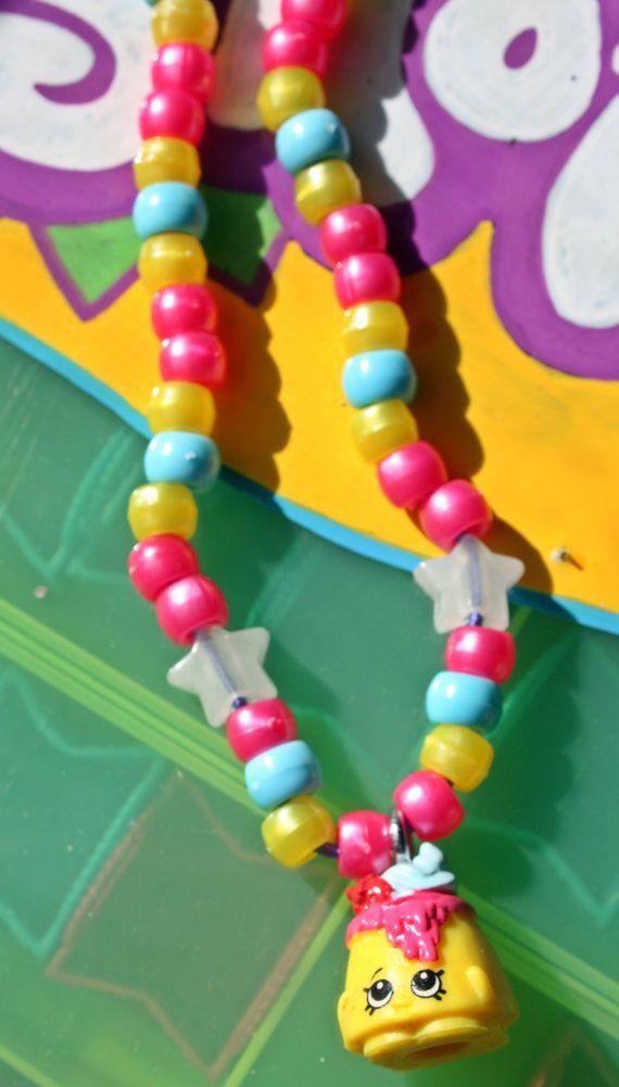 Shopkins Season 2 Handmade Necklaces Choco Lava by LanaLego