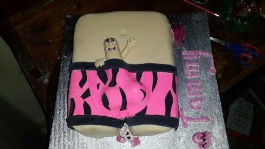 Penis cake