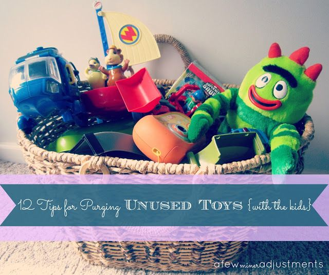 12 Tips to Purge Unused Toys With Your Kids: the toy pile keeps growing and growing.