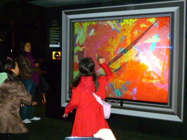Electronically create your own art #Sydney #vividsydney #Australia #travel Painting with lights http://ow.ly/VYex